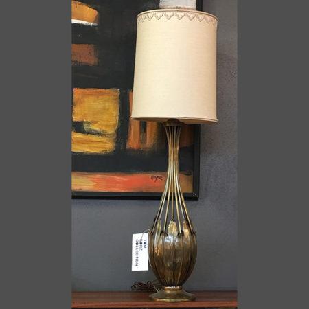 Table Lamp, Signed Hans Grag